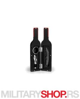 Vinski set u obliku flaše Cabernet