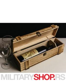 Drvena poklon kutija za pića Baroque