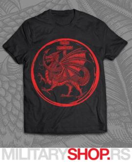 Viteški red zmaja crna majica