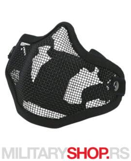 Zaštitna maska za airsoft KombatUK Black