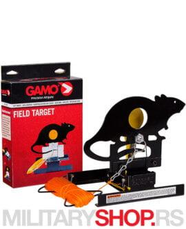 Meta za vazdušne puške Gamo miš predstavlja praktičnu metu od izdržljivog metala.
