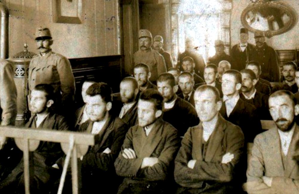 Gavrilo Princip i ostali Vidovdanski heroji