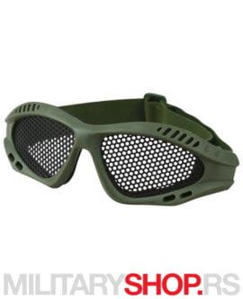 Airsoft zaštitne naočare KombatUK Glasses Olive