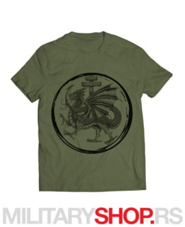 Viteški red zmaja zelena majica