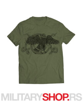 Studenički orao majica zelene boje