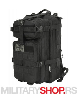 MOLLE ranac crni KombatUK Stealth Pack 25l predstavlja izdržljivi ranac sa dve veće pregradom i dva manja odeljka.