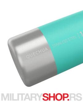 Boca od nerđajućeg čelika Quechua Turquoise 1l