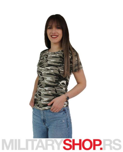 Ženska majica maskirna Amazon šara