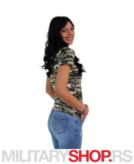 Ženska majica sa V izrezom Amazon