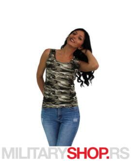 Ženska majica na bretele Amazon Camo