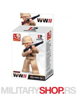 Mini figura Drugi svetski rat Sluban B0582A
