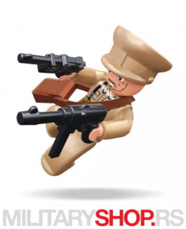 WWII Sluban B0582B figura vojnika