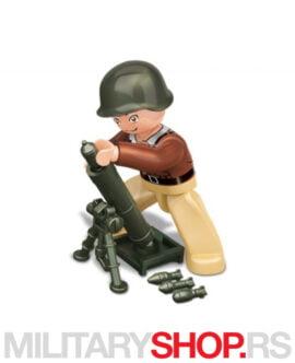 WWII Sluban B0582E figurica vojnika