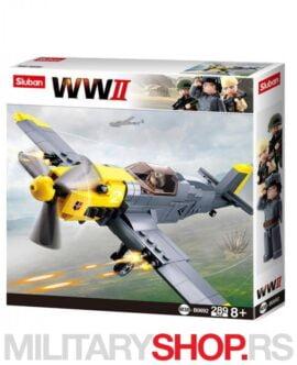 Nemački borbeni avion WWII Sluban B0692