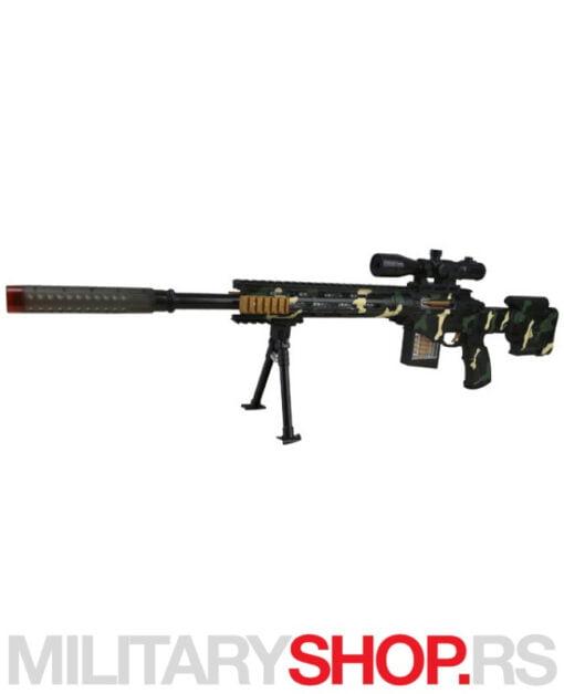 Snajper igračka puške Black Sniper Rifle