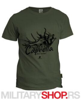 Lovačka olive zelena majica srndać Caprella