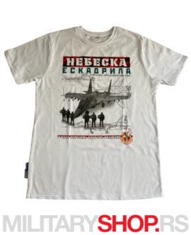 Nebeska eskadrila 1999. bela majica