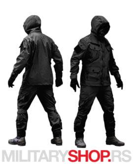 Vojna uniforma crne boje Armoline Marauder
