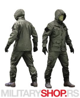 Komplet uniforma zelene boje Armoline Marauder