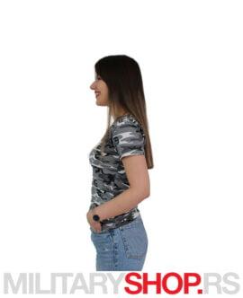 Ženska majica sa V izrezom Urban