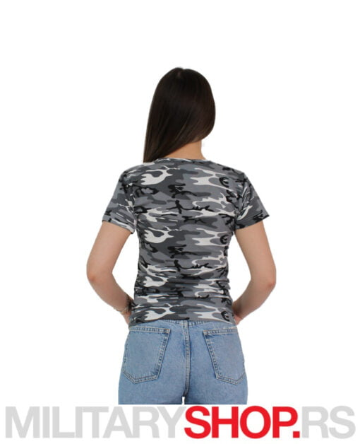 Ženska majica siva šara Urban