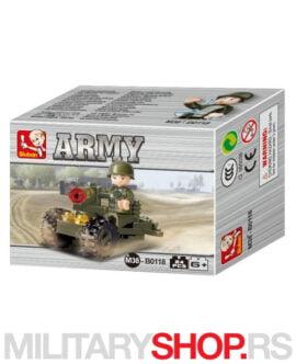 Figura vojnika sa motorom Sluban B0118