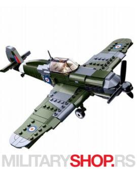 Britanski borbeni avion WWII Sluban B0712