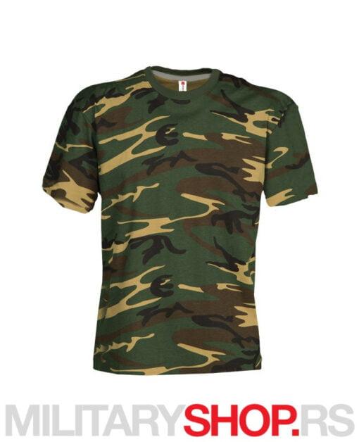 Maskirna majica Sunset Comuflage olive