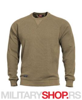 Pamučni džemper kojot boje Pentagon Elysium