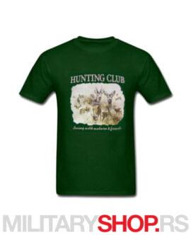 Lovačka majica zelene boje Wild Boar