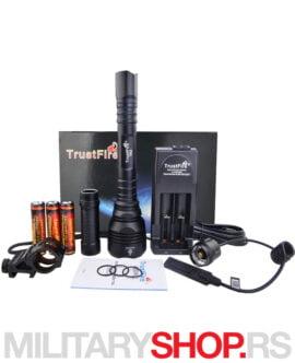 Lovačka lampa komplet pakovanje TrustFire T62