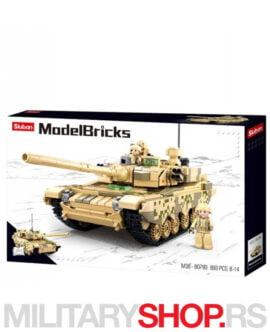 Kockice borbeni tenk Sluban B0790