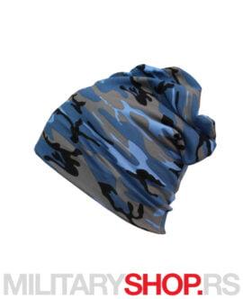 Kapa maskirna plava šara More