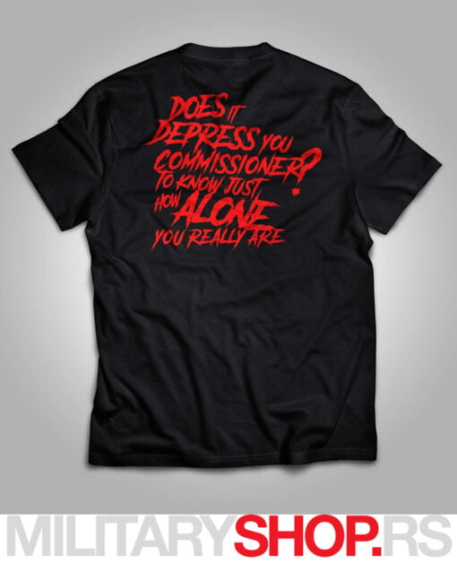 Majica JOKER Put on Happy Face crna boja